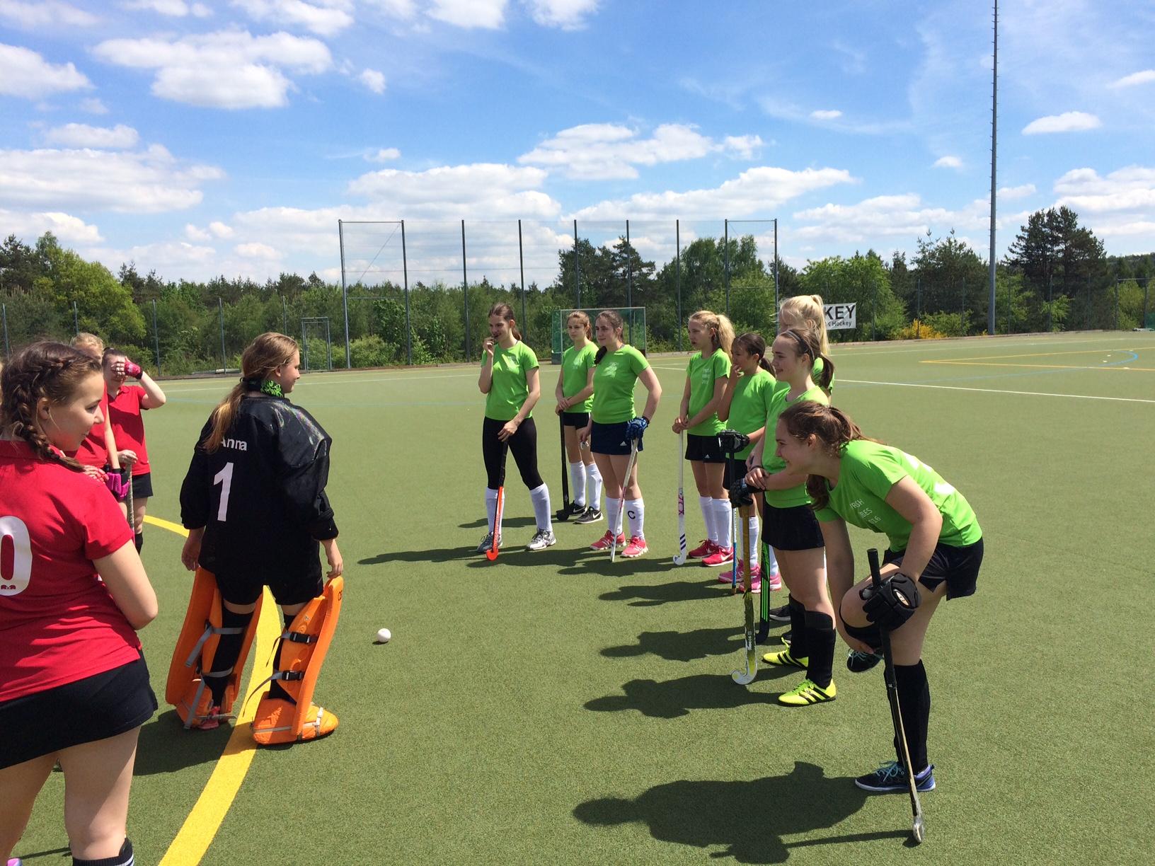 Weibliche Jugend B (PST&HCL) Spieltag am 21.05.2017 beim 1